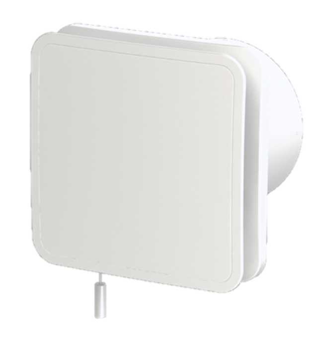 Samika LE100, is a low energy, bathroom extractor fan with adaptive extraction with outstanding performance which ensures guaranteed installed performance. Available with smart humidity control and smart timer. 100mm low carbon fan suitable for wall, ceiling and window applications
