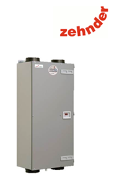 The Zehnder CA200 is a passive haus accredited MVHR heat recovery system, suitable for apartments and small houses providing outstanding heat recovery efficency of 93%
