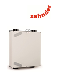 The Zehnder CA160 is a passive haus accredited MVHR heat recovery system, ideally suited to flats and apartments, providing efficient airflow with outstanding heat recovery efficency of up to 95%