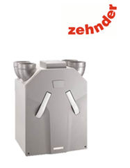 The Zehnder CA350 is a Passive House accredited MVHR Heat Recovery System and is ideal for medium sized dwellings to provide efficient levels of airflow with outstanding heat recovery efficiency up to 90%
