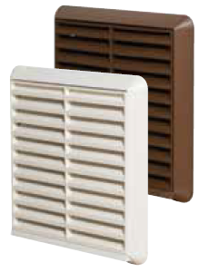 Baffle and Grilles for extractor Fans